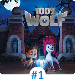 100% WOLF - LEGEND OF THE MOONSTONE screened programmes Mipjunior