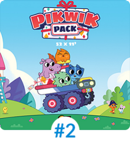 PIKWIK PACK screened programmes Mipjunior